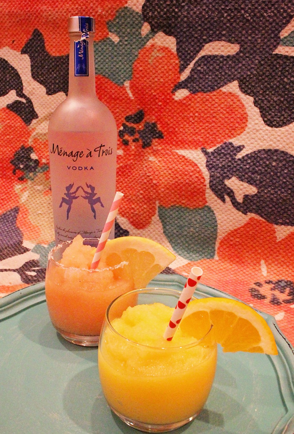 Vodka Slushies -Grown Up Summer Goodness from A Well Crafted Party