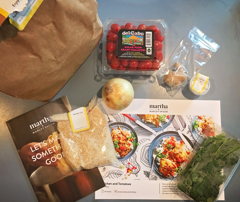 My experience creating an easy weeknight dinner with Marley Spoon - A Well Crafted Party