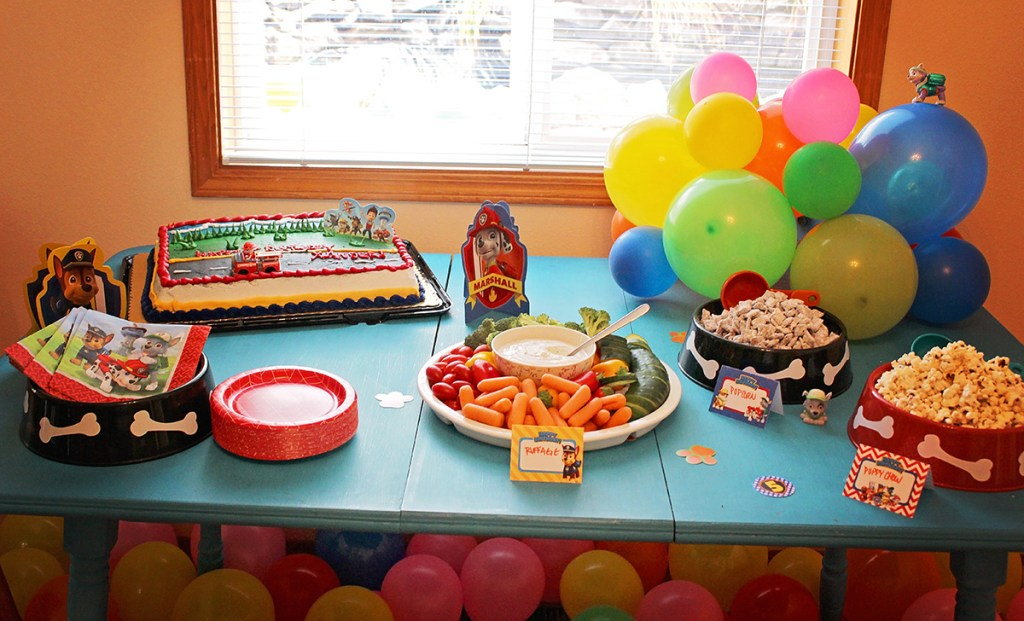 Paw Patrol Party Food