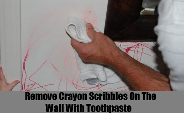 get-crayon-off-wall-toothpaste