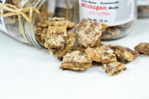 Dave's Sweet Tooth Toffee - The Awesome Mitten
