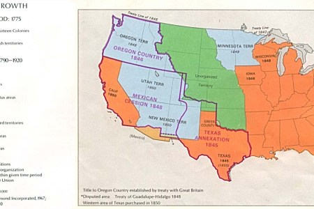 map of the united states depicts territorial growth