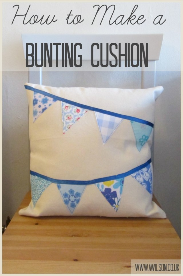 how to make bunting without sewing