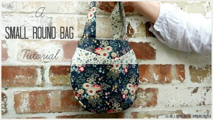 Small Round Bag Tutorial