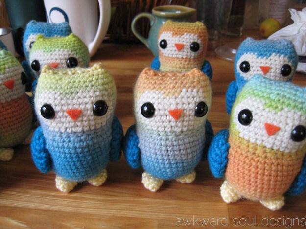 1 dozen amigurumi owls - awkwardsouldesigns (5)