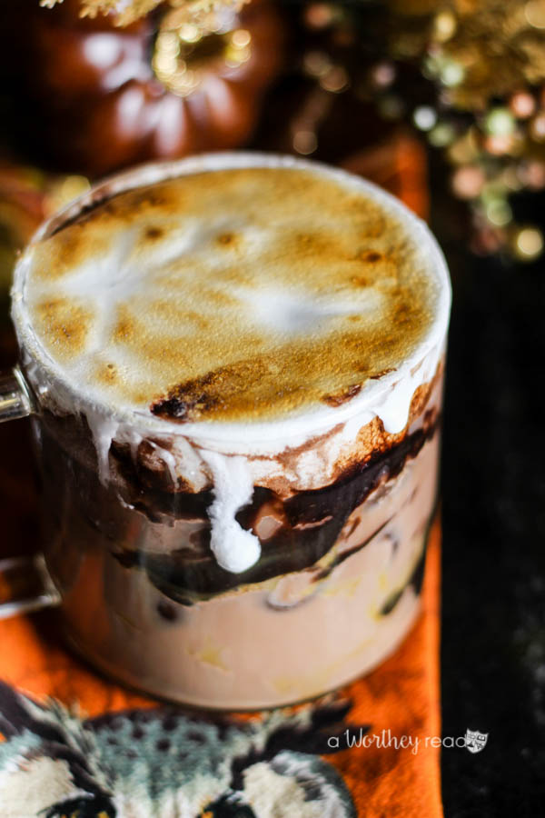 Iced Spiced Cocoa Latte
