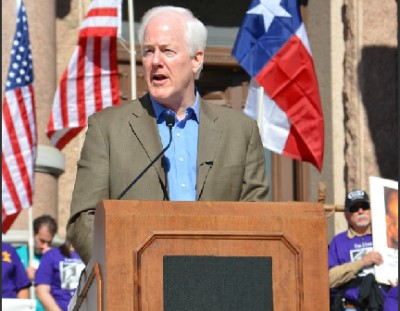 Senator John Cornyn of Texas