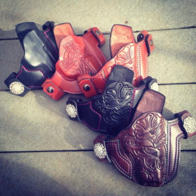 Assortment of beautiful Soteria holsters