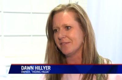 Dawn Hillyer of Hiding Hilda
