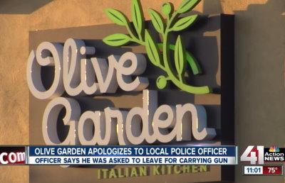 olive garden Archives American Women who Bear ArmsA gun