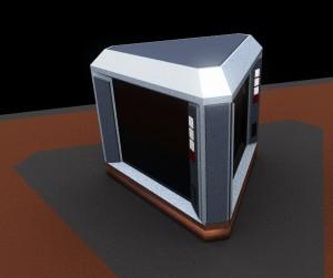 Desktop Monitor Concept