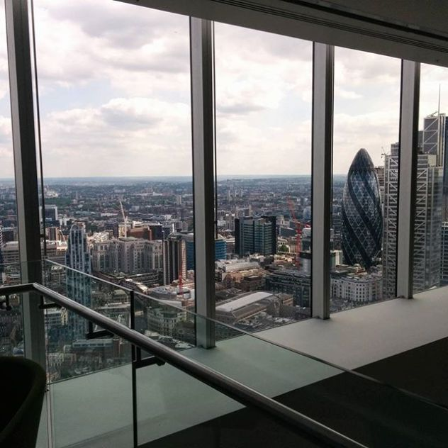 #ImmersiveAudio is getting relevant, you get it when a meetup dedicated to this topic is organised at the 32nd floor in the City Of London.#RWAudio17 @immerseuk_