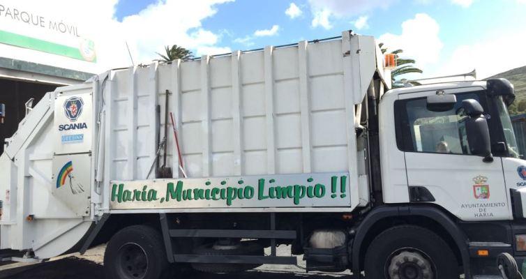 Camión recogida de residuos