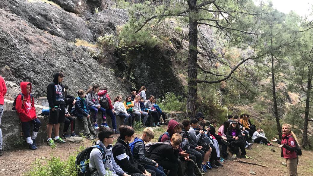 Viaje de alumnos del IES Haría a La Palma (2)