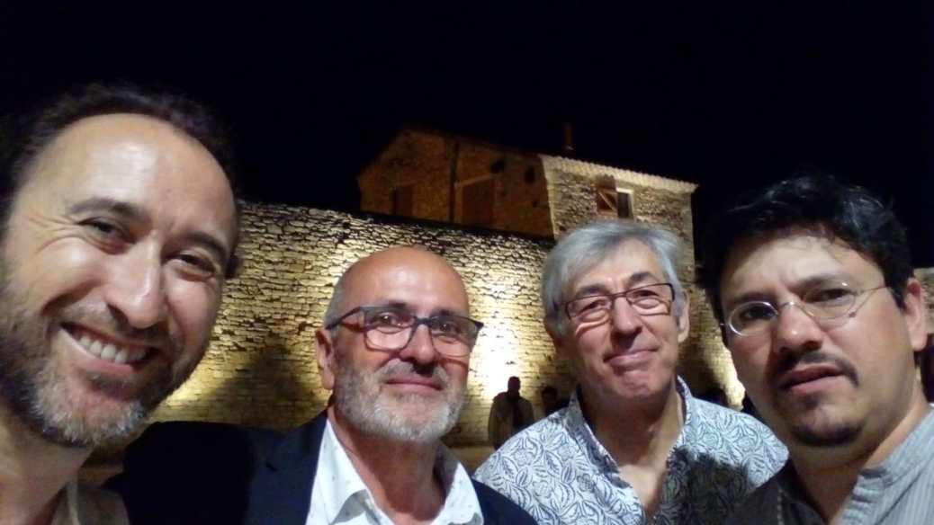 El concejal de Cultura en el Festival de Guitarra de Cvennes