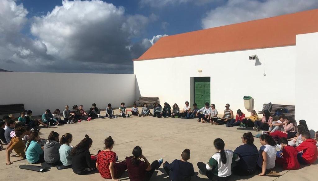 Foto Convivencia VIVE+ Lanzarote 2º de la ESO novienmbre 2018