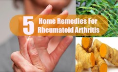 Top 5 Home Remedies For Rheumatoid Arthritis