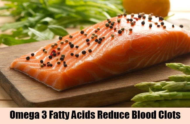 Omega 3 Fatty Acids Reduce Blood Clots