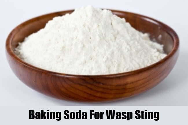 Baking Soda For Wasp Sting