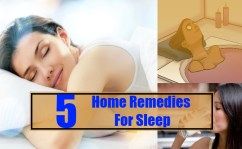 Top 5 Home Remedies For Sleep