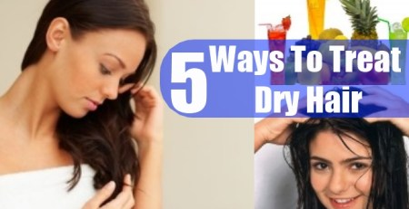 Ways To Treat Dry Hair