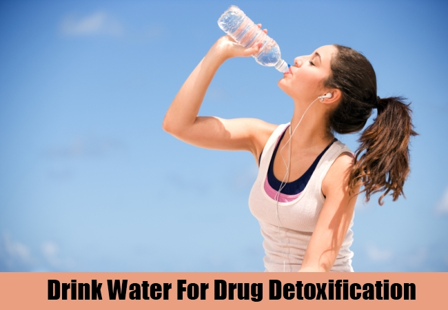 Drink Water For Drug Detoxification