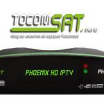 Atualização Tocomsat Phoenix HD nova v.02.026 - set/2016