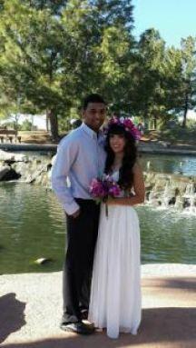 Elopement wedding Gilbert AZ