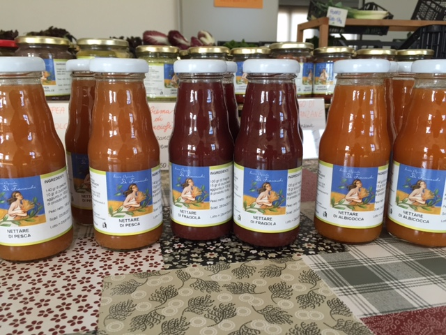 Il nettare di frutta monoporzione