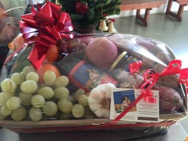 Cesta regalo prodotti misti