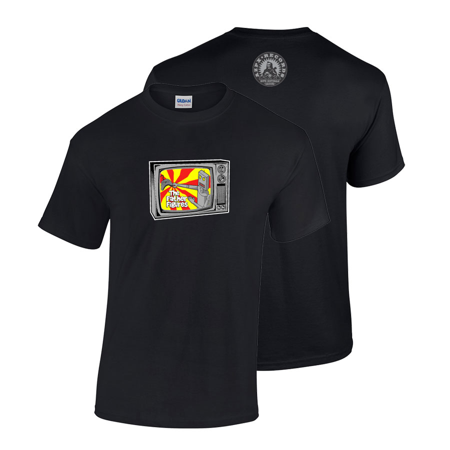 Father Figures Robotic TV T-Shirt