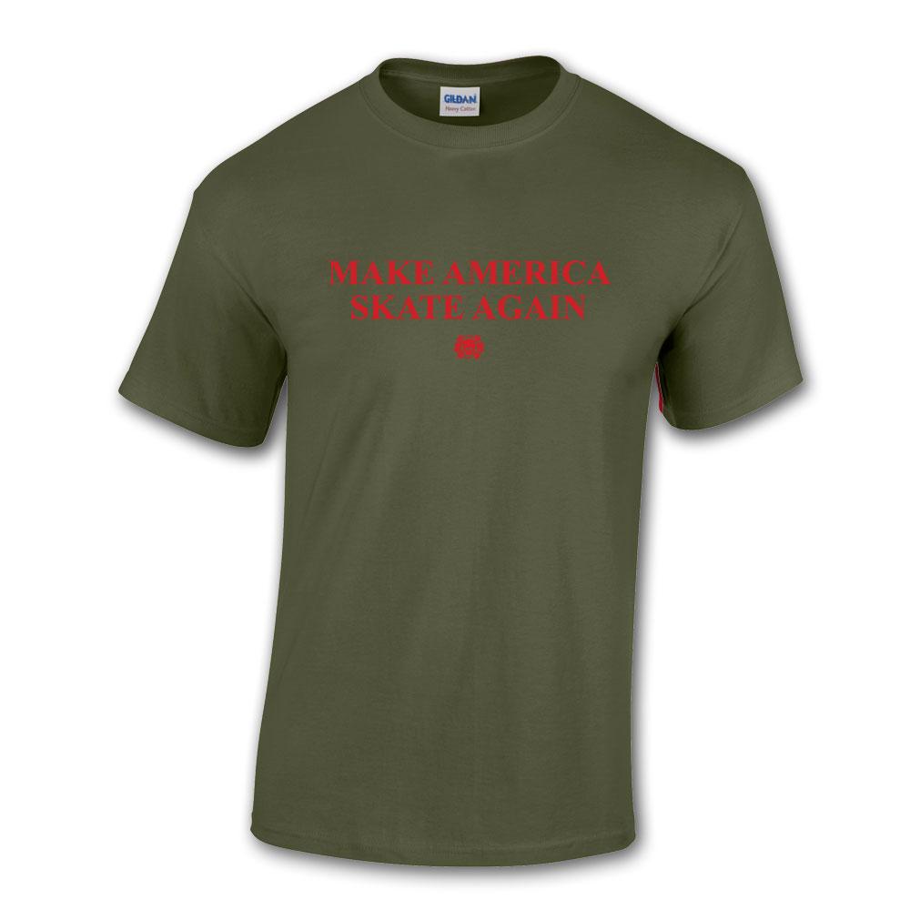 Make America Skate Again T-shirt Globke Colorway