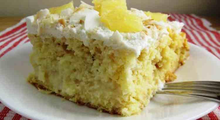 Caribbean Tres Leches Cake | Babaganosh