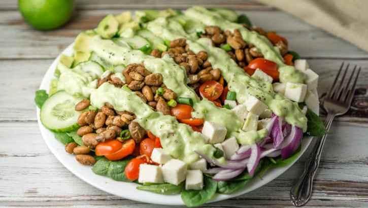 spiced pinto bean salad