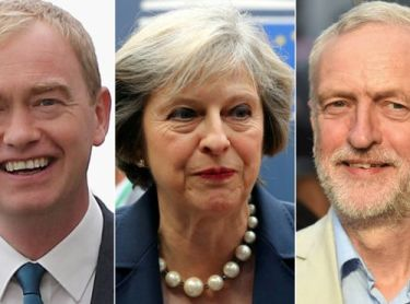 LibDem's Farron Campaigns To Replace Labour As Opposition Party