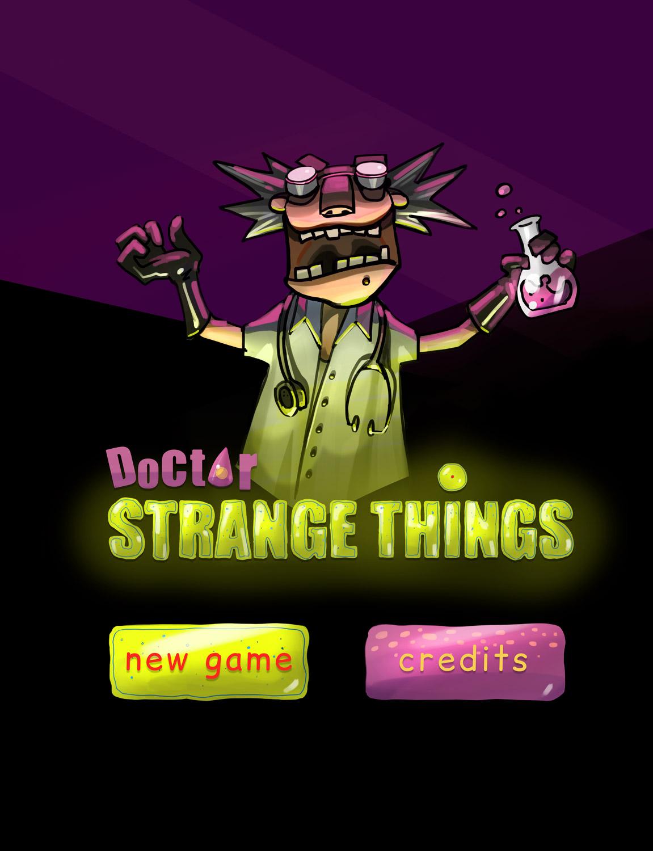Doctor Strange Things - Logo