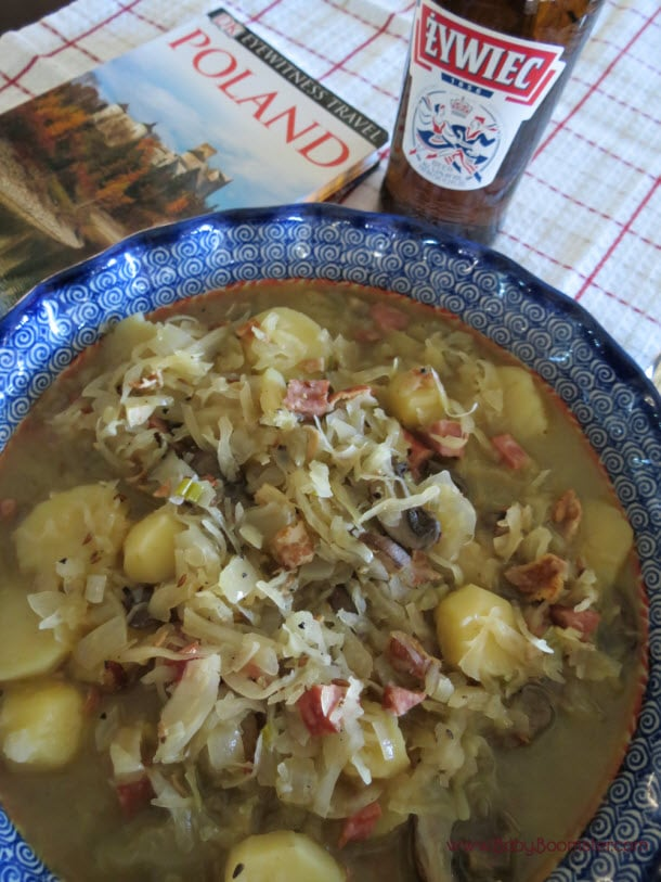 Polish Sauerkraut Soup - Kraków Style