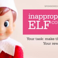 Inappropriate Elf Contest: Panty Raid!