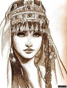 12037f147f2fb465d1e099d3cf1c97b9-gypsy-drawing-drawing-art
