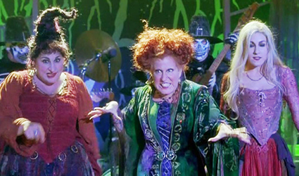 "It's Coming! - Back2Stonewall's Halloween Countdown: "" I Put A Spell On You"" from the 1993 Movie ""Hocus Pocus"""