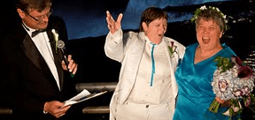 First Gay Coupler Married In New York