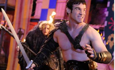 Eddie McClintock gladiator