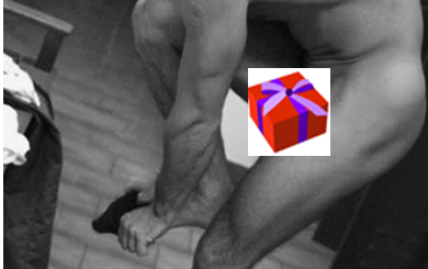 Ben Cohen REALLY safe naked
