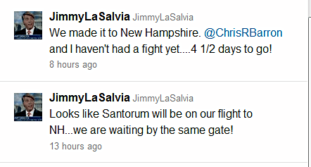 Jimmy LaSalvia Rick Santorum