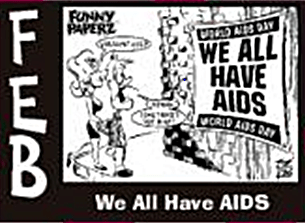 Joe King We all have AIDS
