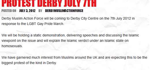 Derby Muilm gay hatred
