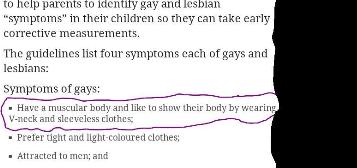 Malaysia anti-gay program