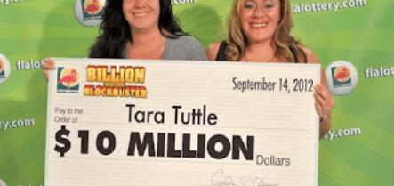 TataTuttle Lesbian FL Lottery Winner