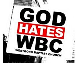 God Hates Westboro Baptist Church