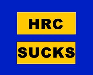 HRC Sucks